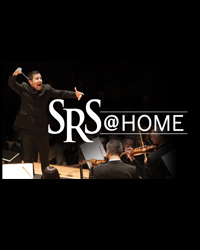 poster for SRS@Home Virtual Concert